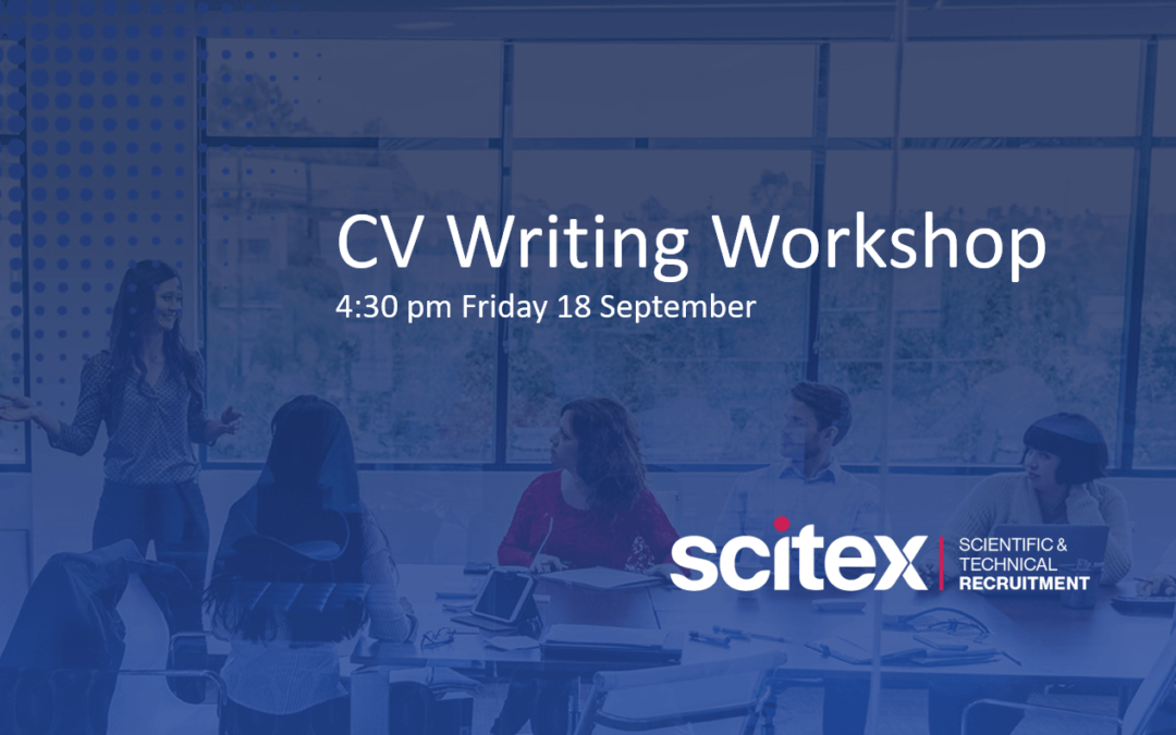 CV writing workshop – 18th September