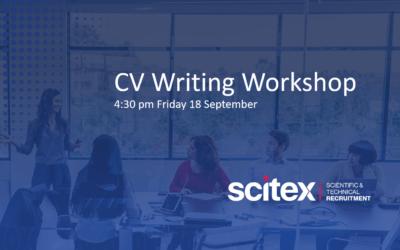 CV writing workshop – 18th September