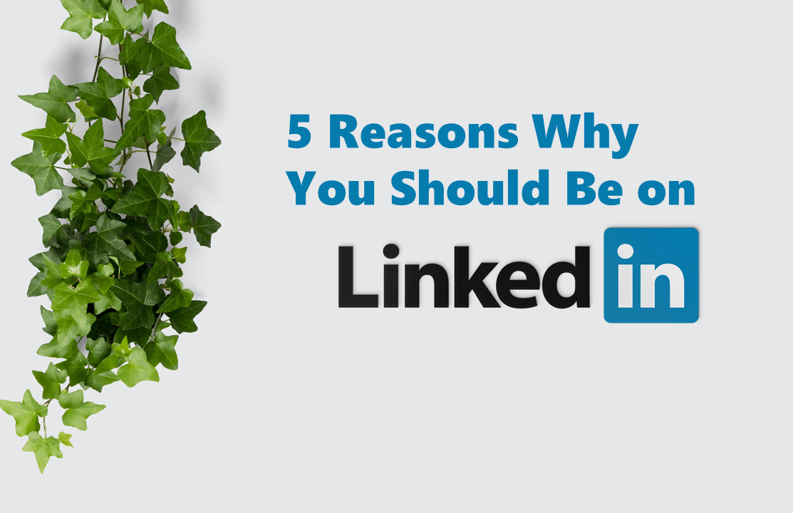 Five reasons why you should be on LinkedIn